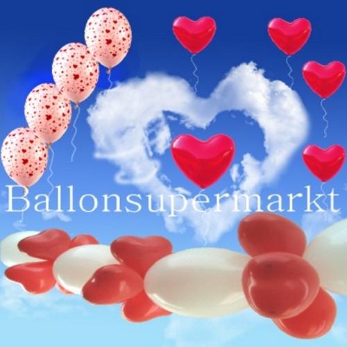 Ballons-Valentinstag-Liebe-Dekoration-Valentin