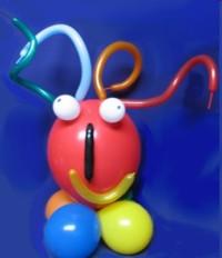 Modellierballons mit Ballons