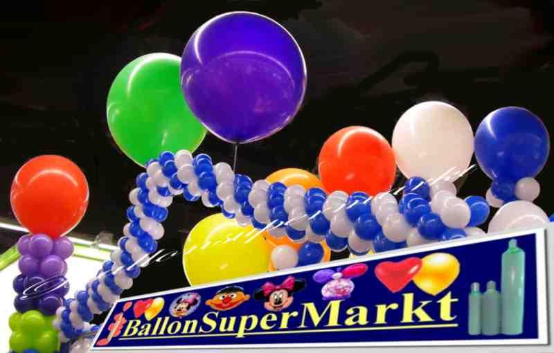 Ballons und Riesenballons
