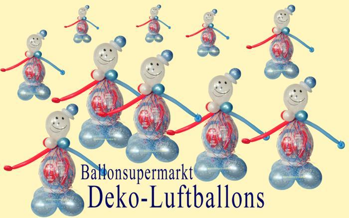 Dekoration zum geburtstag mit luftballons for Dekoration mit luftballons